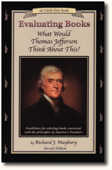 Book Cover Uncle Eric Talks About Evaluating Books What Would Thomas Jefferson Think About This